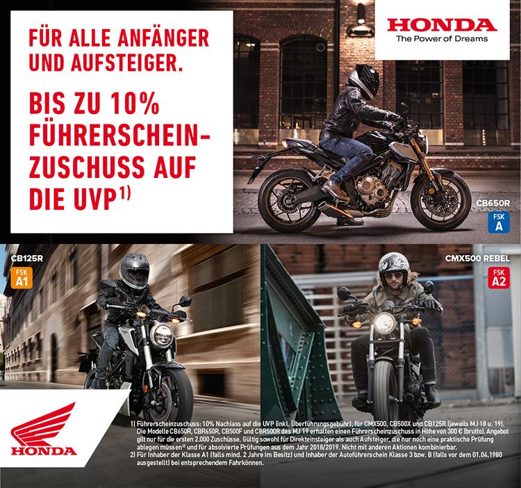Honda Schreiber Motorrad Schreiberde